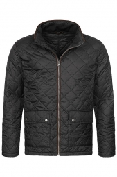 Bunda STEDMAN Quilted JACKET MEN čierna L